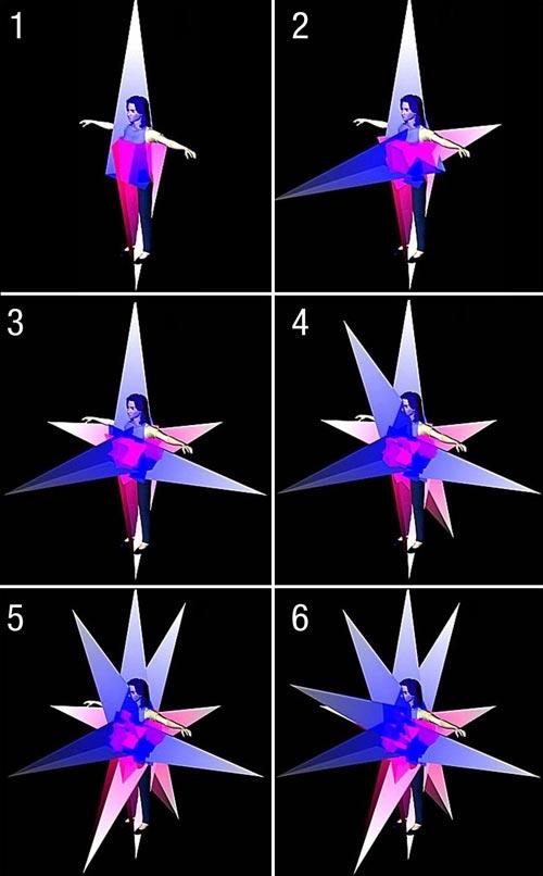3D Merkaba 1-6